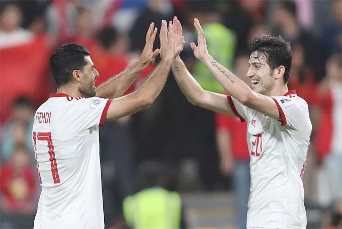 Mehdi Taremi vàSardaz Azmoun