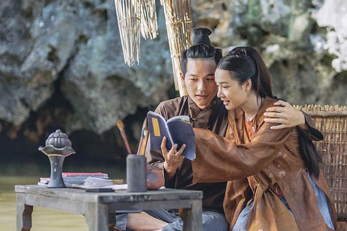 Nhã Phương đóng cặp hot boy kém 8 tuổi trong phim Trạng Quỳnh.