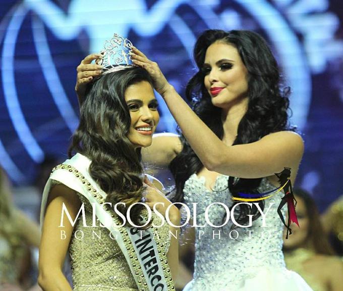 Vương miệnMiss Intercontinental 2018 thuộc về người đẹp Philippines, Karen Gallman (26 tuổi). Á hậu 1 được trao cho đại diệnCosta Rica, Á hậu 2 là thí sinh của Cộng hoàSlovak, Á hậu 3 là người đẹpColombia, Á hậu 5 là đại diện củaEthiopia.