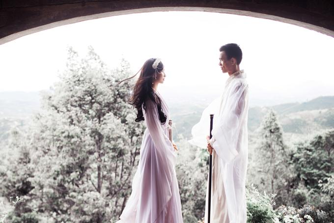 Ảnh cưới cổ trang lấy cảm hứng từ chuyện tình yêu truyền kiếp - 1