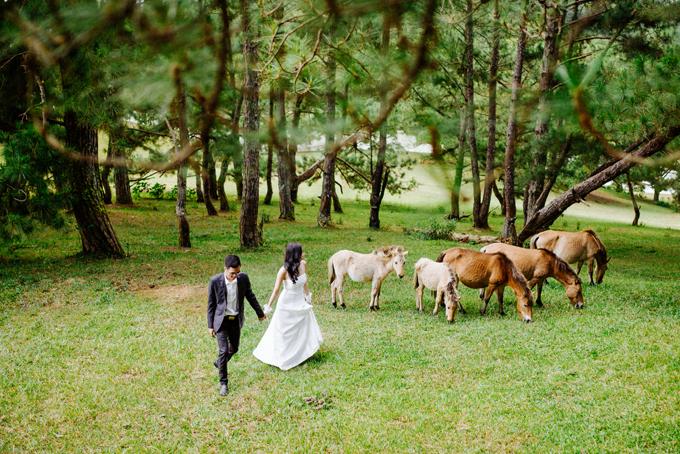 Uyên ương cũng nhắn nhủ cô dâu chú rể nên chọn một danh sách các studio ảnh cưới và đến tận nơi để trao đổi nhằm chọn được ekip ưng ý. Sau khi kết hôn vào đầu năm nay, uyên ương đã chuyển sang Nhật Bản sinh sống và làm việc.