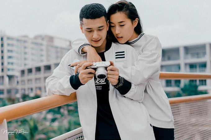 Huỳnh Anh và bạn gái Việt kiều Bỉ - Nguyễn Y Vân - chính thức yêu nhau cuối năm ngoái.