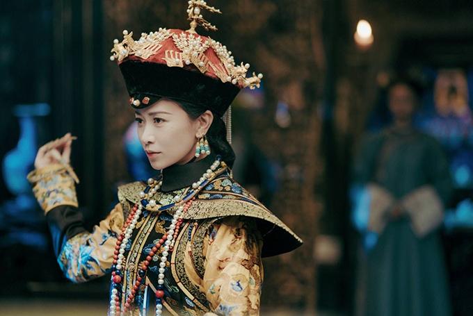 Xa Thi Mạn trong tạo hình Kế hoàng hậu phim Diên Hy công lược.