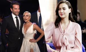 Bradley Cooper 'hẹn hò' Gaga trong khi Irina Shayk chạy show ở Nga