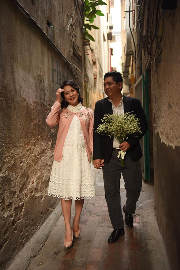 Thanh Thúy thường làm nhà sản xuất cho các dự án điện ảnh do ông xã Đức Thịnh đạo diễn.