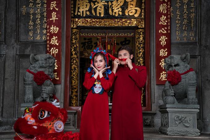 Anh Tài - Vũ Ngọc Ánh tiết lộ ảnh cưới đậm không khí Tết