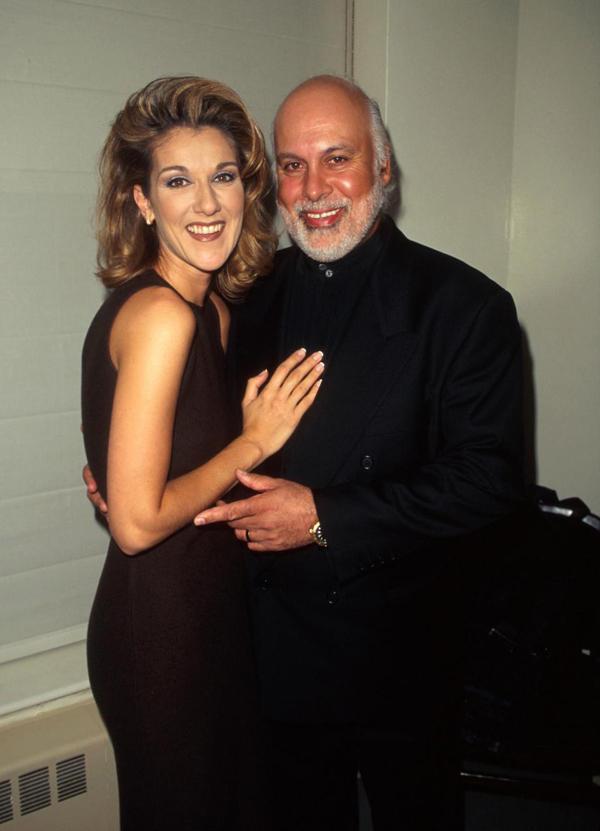 Celine và người chồng quá cố, Rene Angelil.