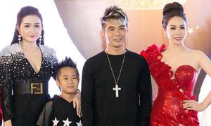 Tình cũ Lương Bích Hữu đưa vợ 9X và con riêng đi tiệc