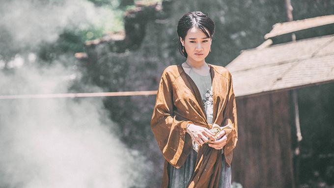 Nàng Điềm là vai diễn cổ trang đầu tiên của Nhã Phương trên màn ảnh rộng.