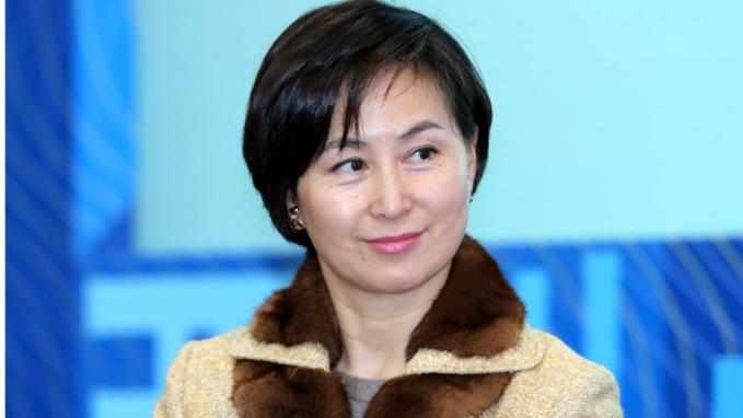 Pansy Ho - chị cả trong đại gia đình vua sòng bài Macau. Ảnh:David Wong.