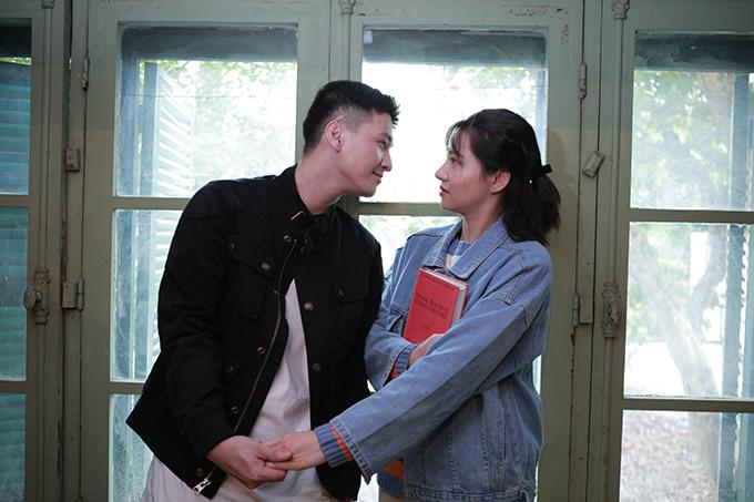 Huỳnh Anh và Lưu Đê Ly trong phimChạy trốn thanh xuân.