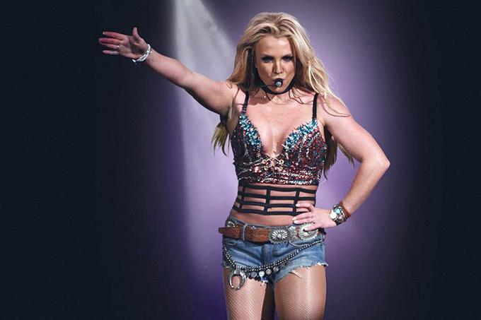 Ca sĩ Britney Spears.