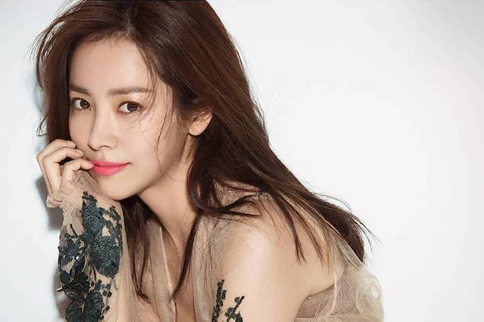 Nữ diễn viên Han Ji Min.