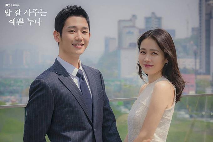 Son Ye Jin và Jung Hae In đẹp đôi trong phim Chị đẹp mua cơm ngon cho tôi.