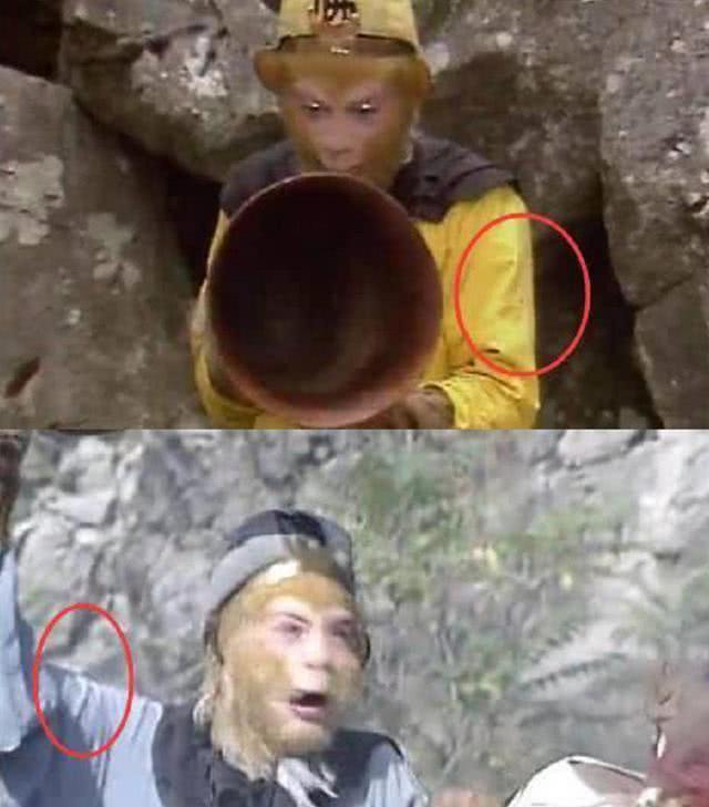 Trong cùng một cảnh phim của Tây du ký phiên bản 1986, phải chăng Tôn Ngộ Không của Lục Tiểu Linh Đồng dùng phép thuật đổi màu áo liên tục?
