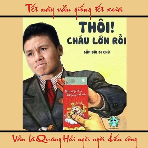 Quang Hải cũng có một năm thi đấu tuyệt vời. Anh làchủ nhân danh hiệuQuả bóng vàng Việt Nam 2018vàcầu thủ xuất sắc nhất giảiAFF Cup 2018.
