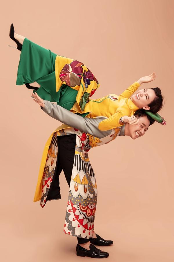 Năm 2018, đôi vơ chồng trẻ tất bật với các dự án nghệ thuật nên chưa tính đến sinh em bé. Hari Won cũng thường xuyên né tránh khi được nhắc chuyện con cái.