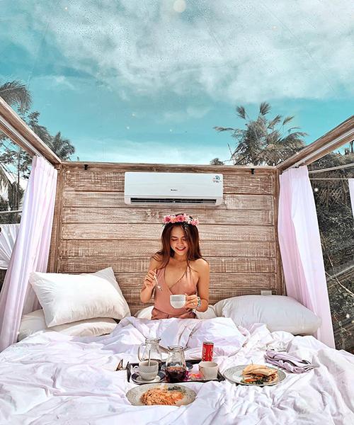 Cô gái Sài Gòn lơ lửng trong khách sạn bong bóng đẹp như cổ tích ở Bali - 12