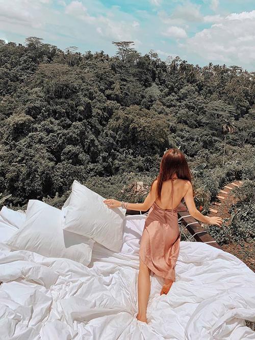 Cô gái Sài Gòn lơ lửng trong khách sạn bong bóng đẹp như cổ tích ở Bali - 11
