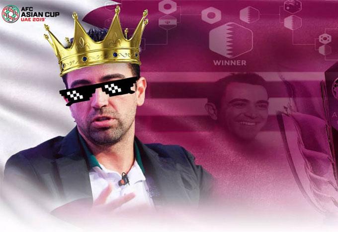 Xavi thành vua dự đoán ở Asian Cup.