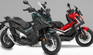 Xe tay ga Honda X-ADV có thêm màu mới