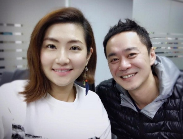 Selina và chồng cũ Trương Thừa Trung.