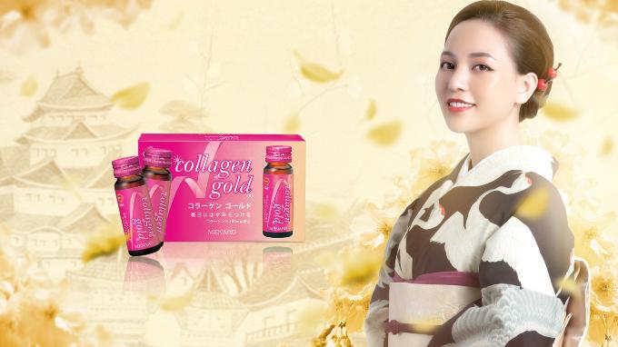 Collagen Gold Menard là collagen được nhận hai giải thưởng Solution for beauty and health của tạp chí thời trang Elle và Sản phẩm hỗ trợ làm đẹp của tạp chí Đẹp.