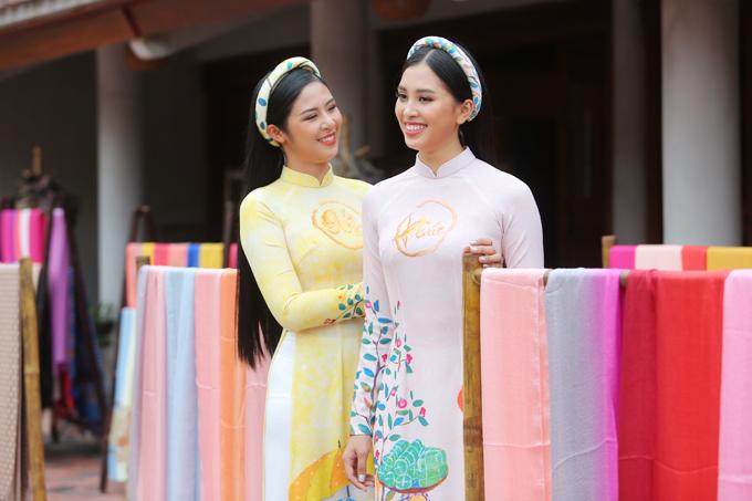 Ngọc Hân, Tiểu Vy ghi hình chương trình ngày 30 Tết