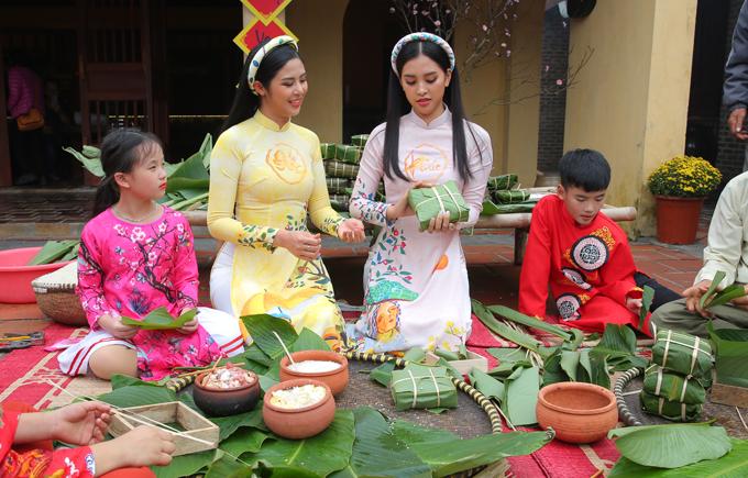 Ngọc Hân, Tiểu Vy ghi hình chương trình ngày 30 Tết - 5