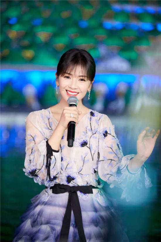A Châu Lưu Đào đẹp như tiên nữ trên sân khấu chào xuân - 7