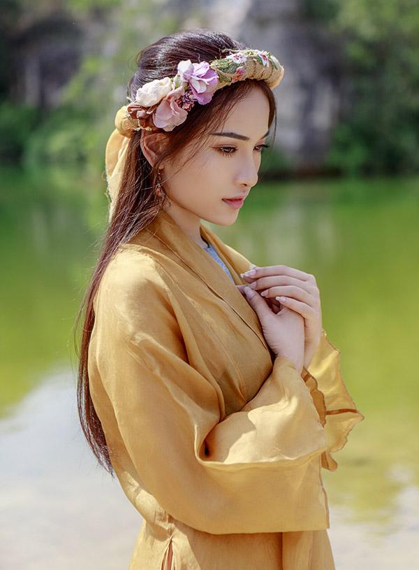 Cô rất thích hình ảnh nàng Điềm trong phim Trạng Quỳnh do Nhã Phương thể hiện nên quyết định thử sắm vai nhân vật này.