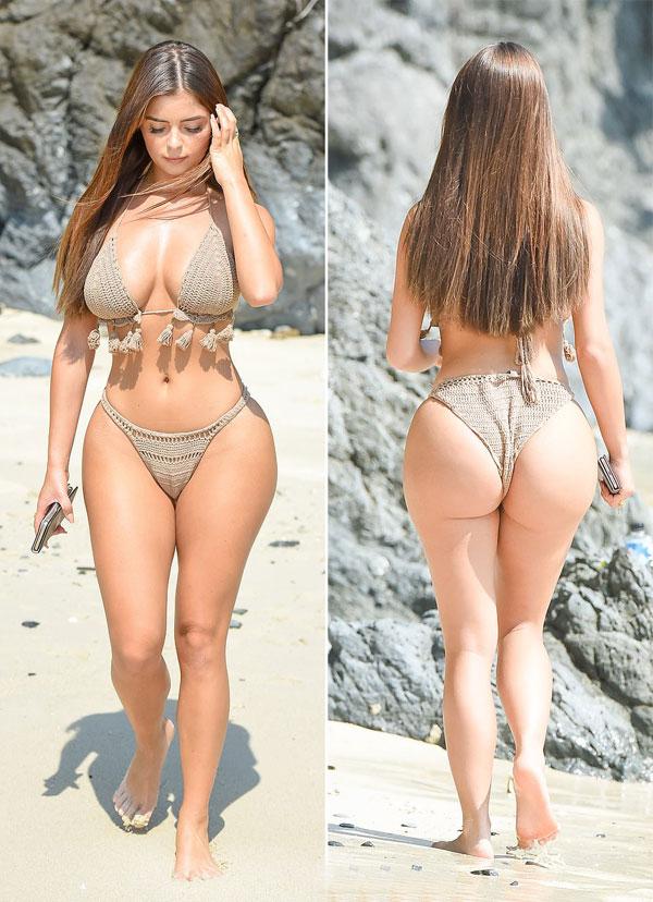 Cô nổi tiếng từ năm 2016 sau khi hẹn hò với rapper người Mỹ gốc Việt, Tyga. Điều khiến mọi người chú ý là Demi có đường cong nảy nở và eo con kiếnkhông kém cạnh bạn gái cũ của Tyga - người mẫu Kylie Jenner. Thêm vào đó, gương mặt của cô cũng hao hao cô út danh tiếng nhà Kardashian. Chỉ sau vài cuộc hẹn hò đi chơi rồi chia tay Tyga, Demi đã nổi như cồn và sự nghiệp người mẫu của cô cất cánh từ đó.
