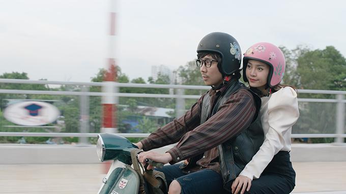 Lan Ngọc lần đầu đóng cặp với Trấn Thành trong phim Cua lại vợ bầu.