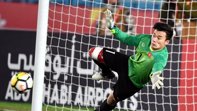 Bùi Tiến Dũng được truyền thông quốc tế ngợi ca với tài bắt penalty tại giải U23 châu Á 2018.