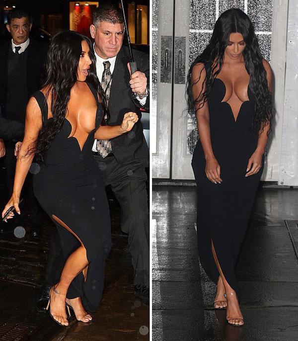 Sở hữu đường cong nóng bỏng nên Kim luôn diện những bộ đầm sexy nhất để khoe dáng trên thảm đỏ.