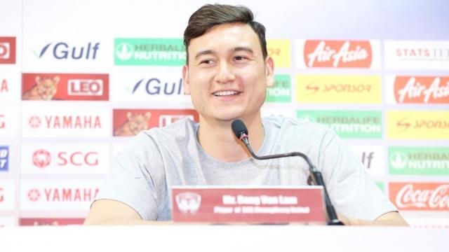 Văn Lâm là thủ môn đắt giá nhất Thái League. Ảnh: Siam Sports.