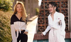 Sao Việt ăn mặc cá tính khi đi du xuân