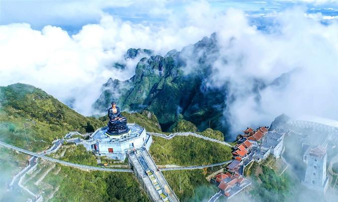 Dáng chùa Việt trên đỉnh trời Đông Dương - 2