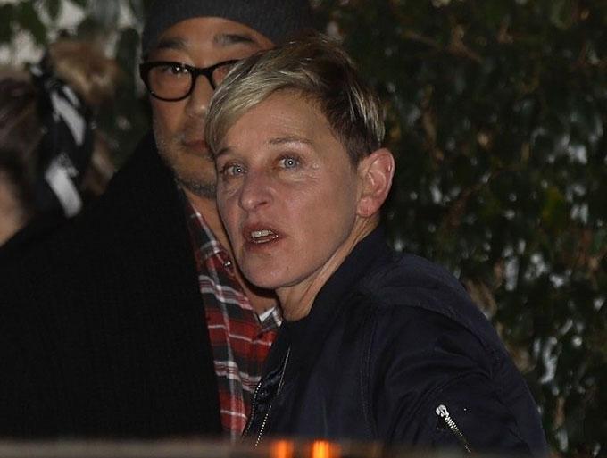 MC truyền hình Ellen DeGeneres.
