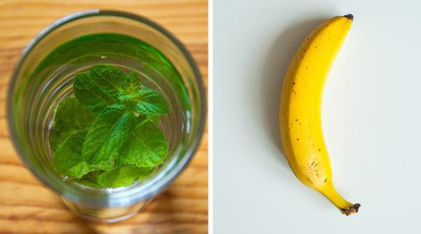 Sử dụng mùi để giảm cảm giác thèm ăn Nghiên cứu đã chứng minh rằng mùi bạc hà, táo, chuối hay bưởi có thể giúp giảm cảm giác thèm ăn.