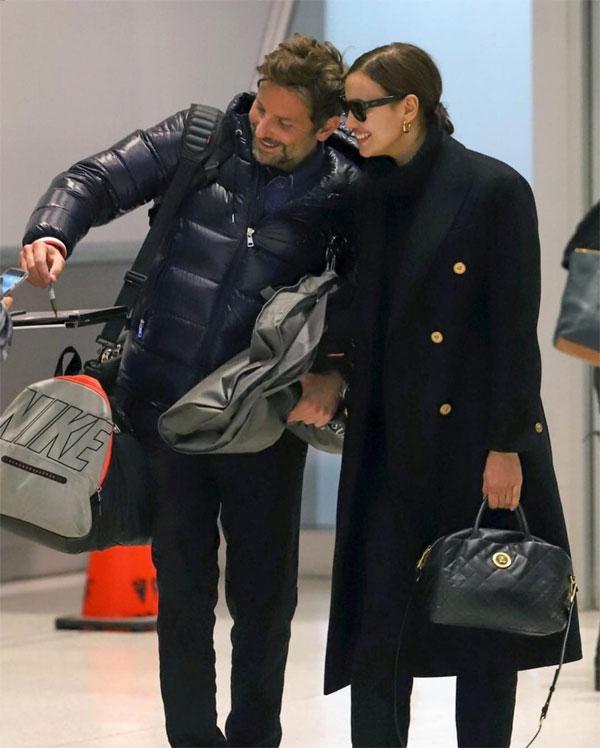 Trước đó, Bradley và Irina được trông thấy rời sân bay ở New York tới Anh dự lễ trao giải từ ngày 7/5. Bộ phim A Star Is Born của Bradley được đề cử tại rất nhiều giải thưởng điện ảnh và đềuchiến thắng ở hạng mục Ca khúc phim hay nhất. Irina luôn song hành cùngbạn trai trên các thảm đỏ tại mùa giải năm nay.