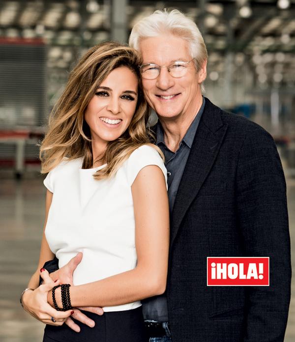 Richard Gere và người vợ trẻ Alejandra Silva.