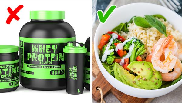 Bạn có thể không cần tới các sản phẩm hỗ trợ tập luyện Bột whey protein hay các công thức sinh tố dinh dưỡng khác không phải là sản phẩm phù hợp với tất cả mọi người. Nếu không có nhu cầu trở thành vận động viên thể hình, bạn chỉ cần ăn uống lành mạnh với khẩu phần ăn có kiểm soát là đủ.