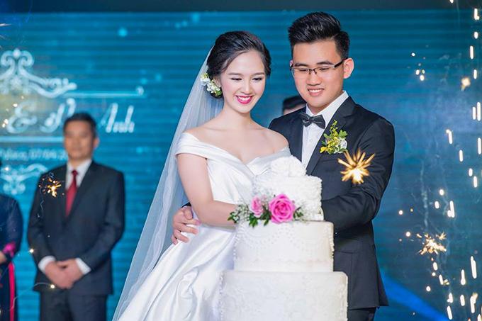 Vợ chồng Đỗ Hà Anh tổ chức đám cưới tại Hà Nội hôm 4/7/2018.