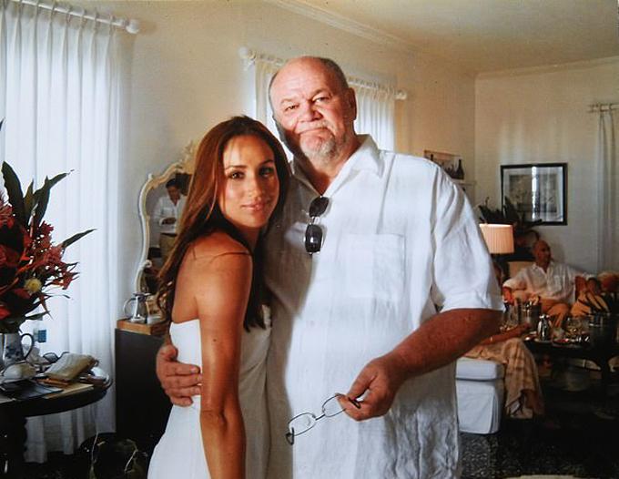 Thomas Markle trong đám cưới lần đầu của Meghan năm 2011. Ảnh: Thomas Markle.