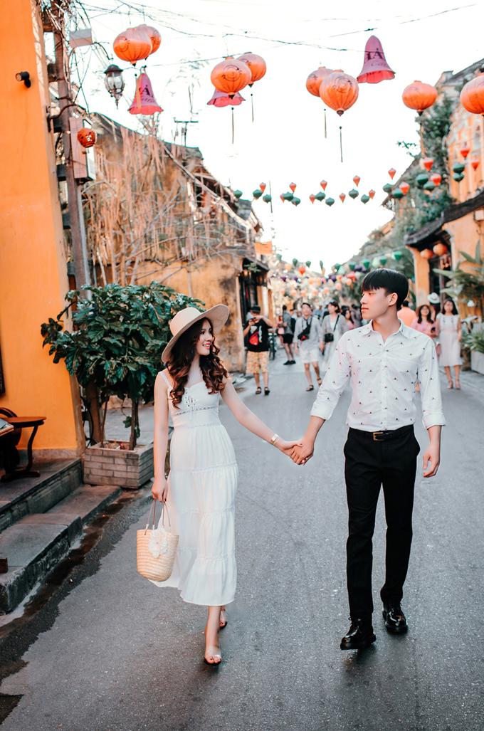 Ảnh cưới ở Đà Nẵng của cặp nên duyên nhờ bạn thân
