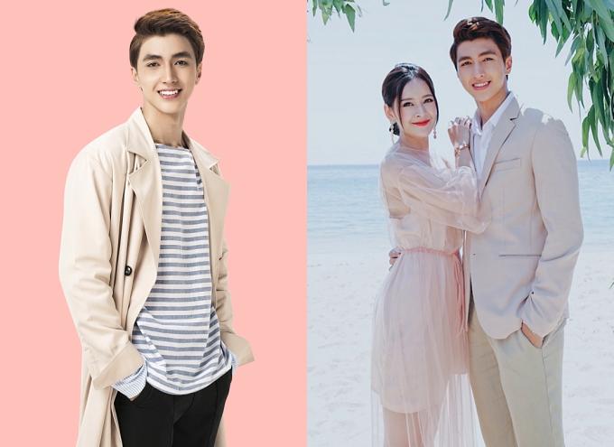 Hiện tại, Bình An quen thuộc với khán giả toàn quốc qua vai diễn Nam Phong trong bộ phim Mối tình đầu của tôi, đóng cùng Chi Pu (ảnh phải), Lan Ngọc...