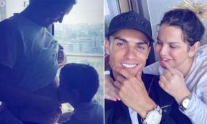 Chị gái C. Ronaldo mang bầu lần ba ở tuổi 41