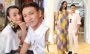 Vợ chồng Lê Thúy đón Valentine thứ 6, bác tin đồn 'hợp đồng hôn nhân'