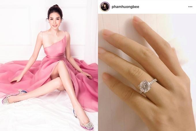 Hoa hậu Phạm Hương tìm được bến đỗ của mình.